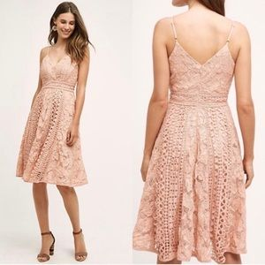 Anthropologie HD In Paris Astrid Lace Dress